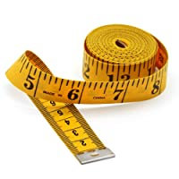 AmzBarley Tape Measure Soft Measuring Tapes Double Scale 120-inch 300cm Length Tailor Dressmaker Flexible Ruler Tool