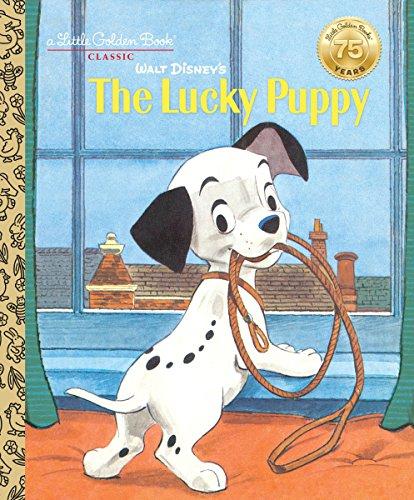 Walt Disney's The Lucky Puppy (Disney Classic) (Little Golden Book)