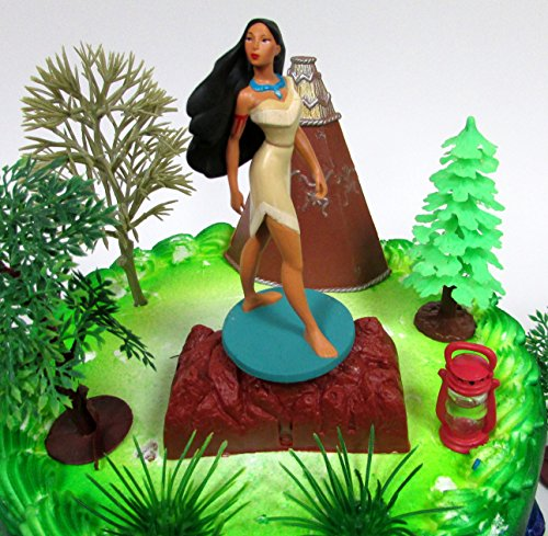 Fine Pocahontas Themed Princess Pocahontas Birthday Cake Topper Set Personalised Birthday Cards Cominlily Jamesorg