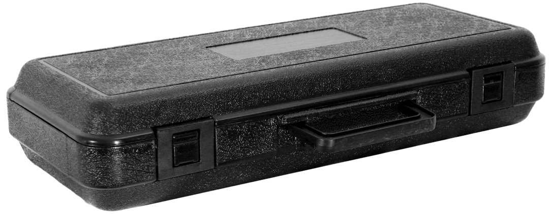 Cases By Source B1553 Blow Molded Empty Carry Case, 15.99 x 5.99 x 2.875, Interior