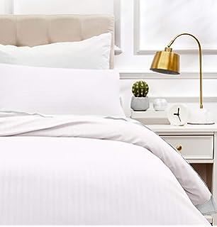AmazonBasics - Juego de ropa de cama con funda nórdica de microfibra y 1 funda de