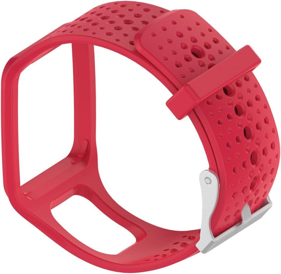 Correa de repuesto para reloj Lokeke TomTom, para reloj multideportivo TomTom GPS