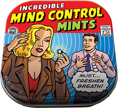 The Unemployed Philosophers Guild Mind Control Mints - Bulk Pack - 12 Tins of Mints ()