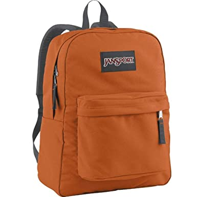 Amazon.com   Jansport Superbreak Backpack Texas Orange   Casual ...