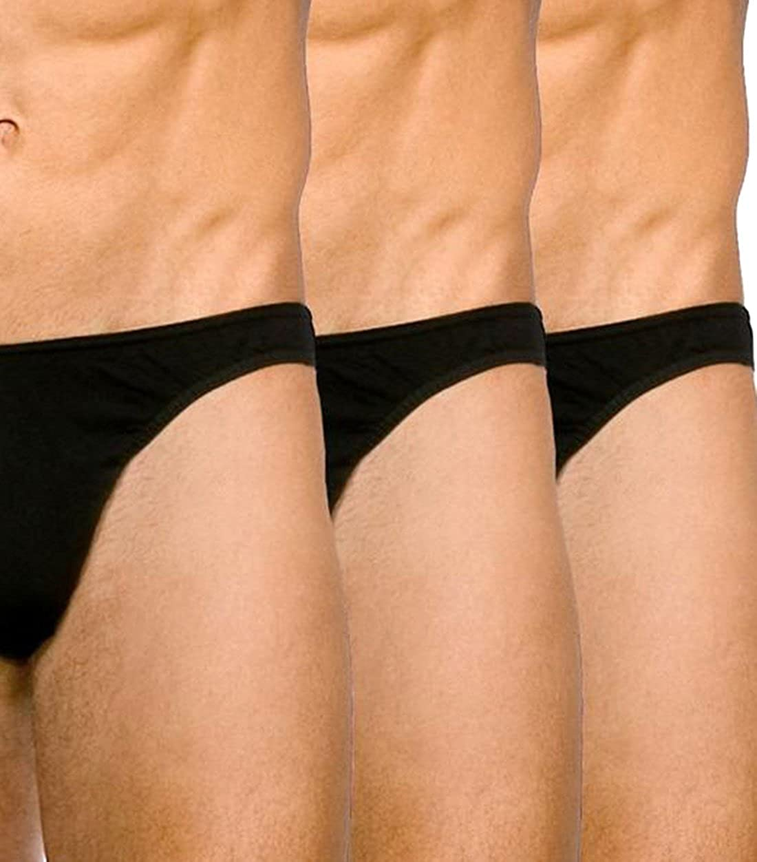 Kiniki Gentsmart Stretch Cotton Brief Pack Black