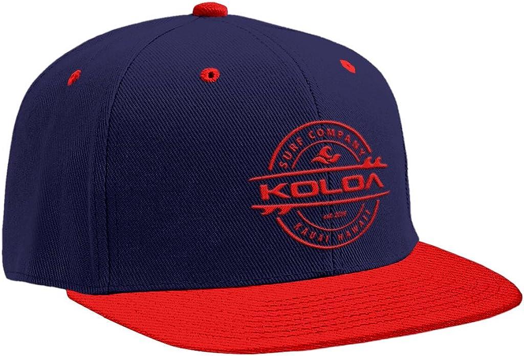 Koloa Surf Premium Embroidered Thruster Logo Snap-Back Hat