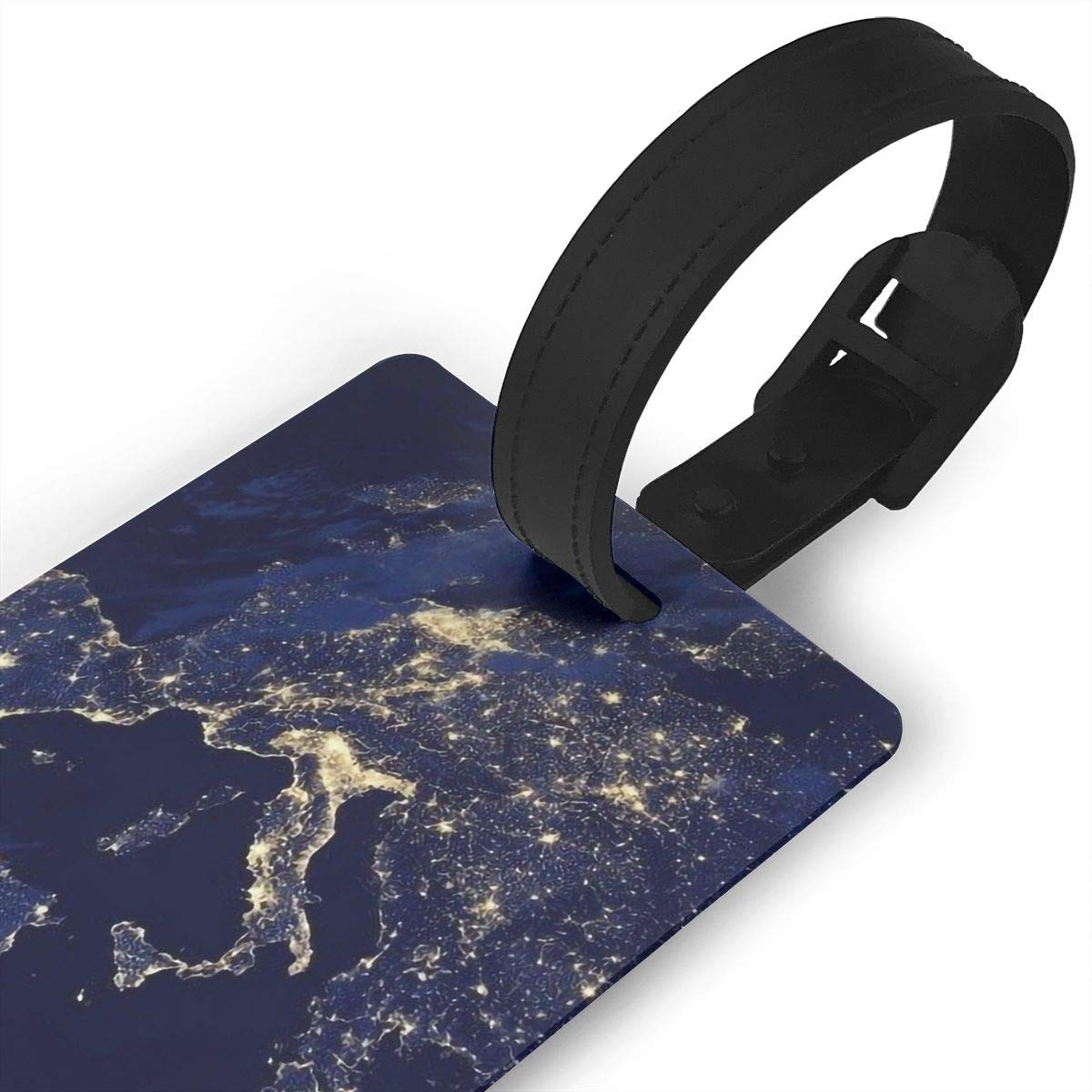 2 Pack Luggage Tags World Map Cruise Luggage Tag For Travel Tags Accessories