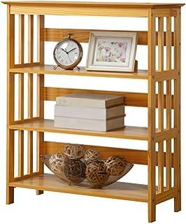 Legacy Decor 3 Tier Wooden Bookshelf Bookcase Oak Finish
