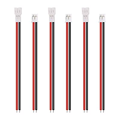 3 Sets Tiny Whoop JST-PH 2.0 Pin Male Female Connector Cable for Upgrading Blade Inductrix: Toys & Games