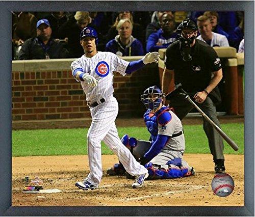 Willson Contreras Chicago Cubs Home Run Game 6 NLCS Action Photo (Size: 12