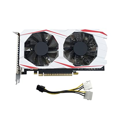 QHJ GTX 1050 Ti Gaming X2G – Tarjeta gráfica (PCI-E, memoria GDDR5 de 2 GB, HDMI, DVI, VGA)