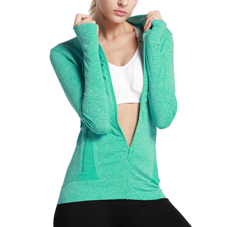 Gimnasio Correr Yoga Ejercicio De Secado Rápido Capa De Deporte Mujer chic. Sunny  Dream Uniforme de béisbol béisbol chaqueta ... 0ed9646ab7000