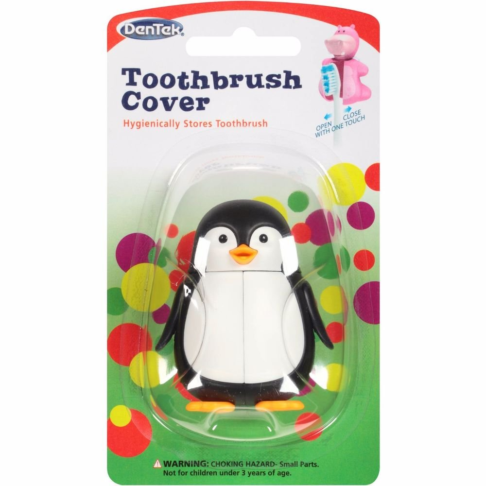 Animal Toothbrush Covers, Assorted Animals, (3 Pack) by DenTek