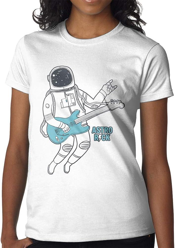 Top para Mujer, Camisetas Personalizadas, Astronauta Tocando la ...