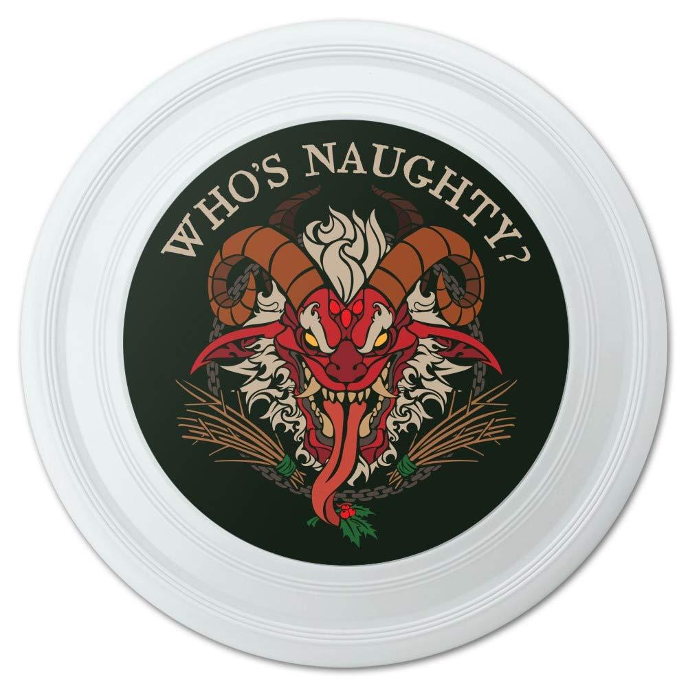 【ファッション通販】 GRAPHICS & MORE Krampus Who's & Naughty Christmas GRAPHICS Holiday Novelty Holiday 9インチ フライングディスク B07KW445JC, アマクサグン:bd0ed57e --- cygne.mdxdemo.com