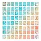 #2: Colossal ship 72 Different Designs Nail Vinyls Stencils Nails Stickers Set Nail Art Decal Stickers Stencils Sheets 144 Pieces