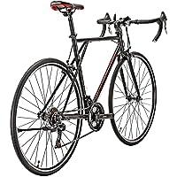Eurobike Road Bike HYXC560 56 cm Frame 21 Speed Bike for Men 700C Wheel Road Bicycle for Women