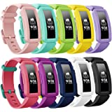findway Compatible with Fitbit Ace 2 Bands for Kids 6+, Soft Silicone Bracelet Accessories Sport Strap Boys Girls…