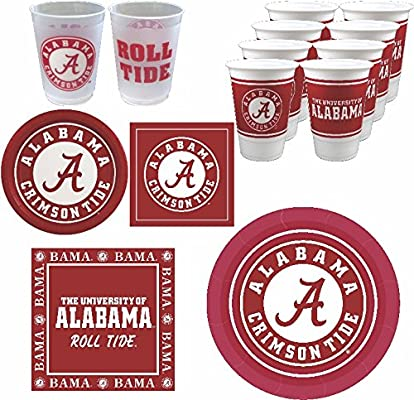 Amazon Com Westrick Alabama Crimson Tide Party Supplies 88