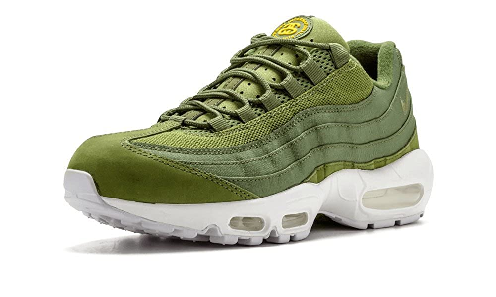 a39d36296e31f8 Nike Men s Air Max 95 Stussy Running Shoes Dark Olive 834668-337 (10)   Amazon.ca  Shoes   Handbags