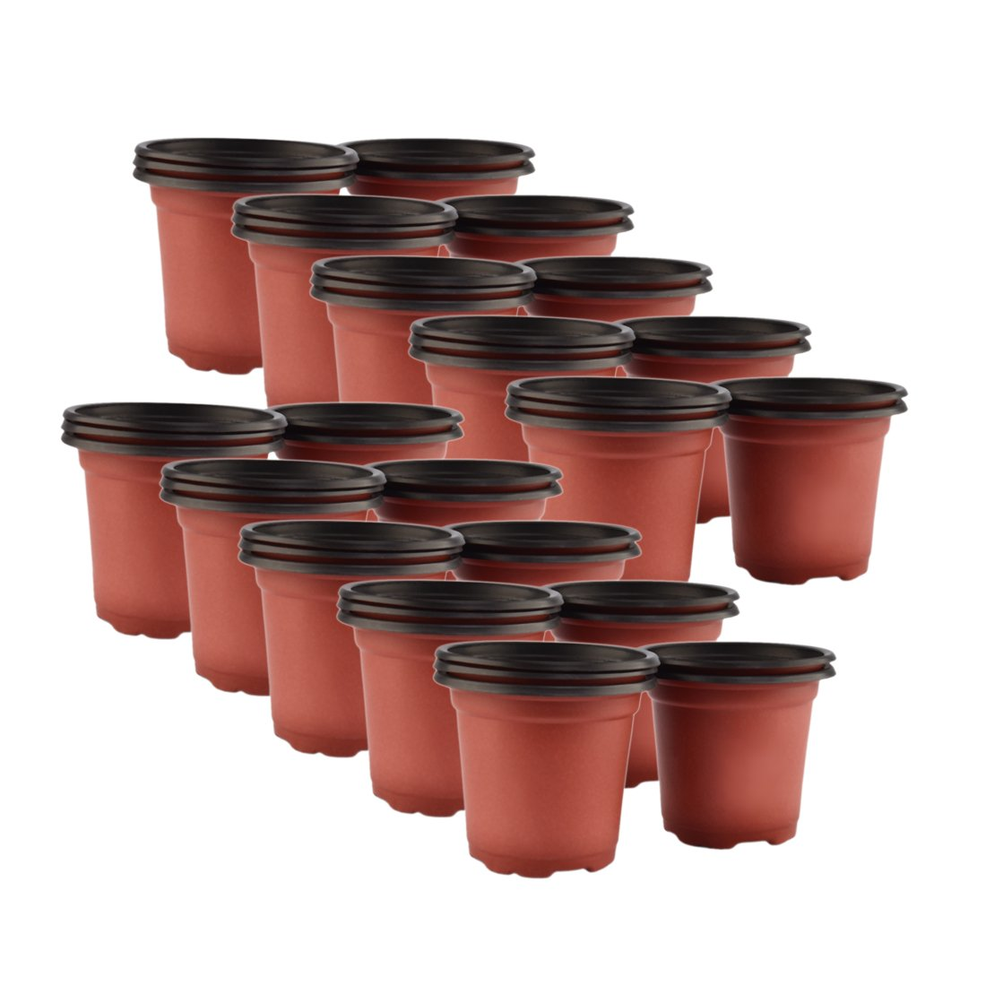FenglinTech 50PCS 7.09'' Planter Nursery Pots Seedlings Flower Plant Container Seed Starting Pots by FenglinTech
