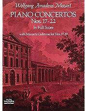 Piano Concertos Nos. 17-22 in Full Score