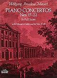 Piano Concertos Nos. 17-22 in Full Score (Dover Music Scores)