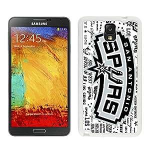New Custom Design Cover Case For Samsung Galaxy Note 3 N900A N900V N900P N900T san antonio spurs 5 White Phone Case wangjiang maoyi