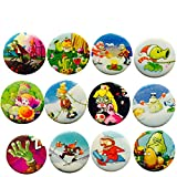 Plants Vs Zombies 1 1/4 '' Badge / Button / Pin / Button Set, 12-pcs