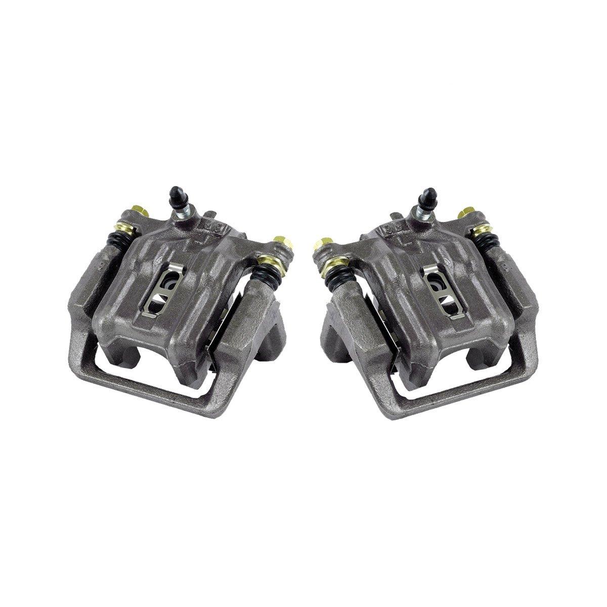 CCK02458 [ 2 ] REAR Premium Grade OE Semi-Loaded Caliper Assembly Pair Set Callahan Brake Parts