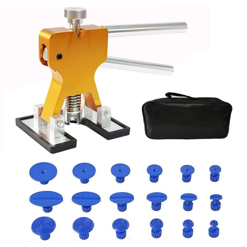 UMIWE 19PCS Household Car Depression Repair Tool Dent Drawing Tool Sheet Metal Puller No Trace Repair Paint Free Suction Cup Kit