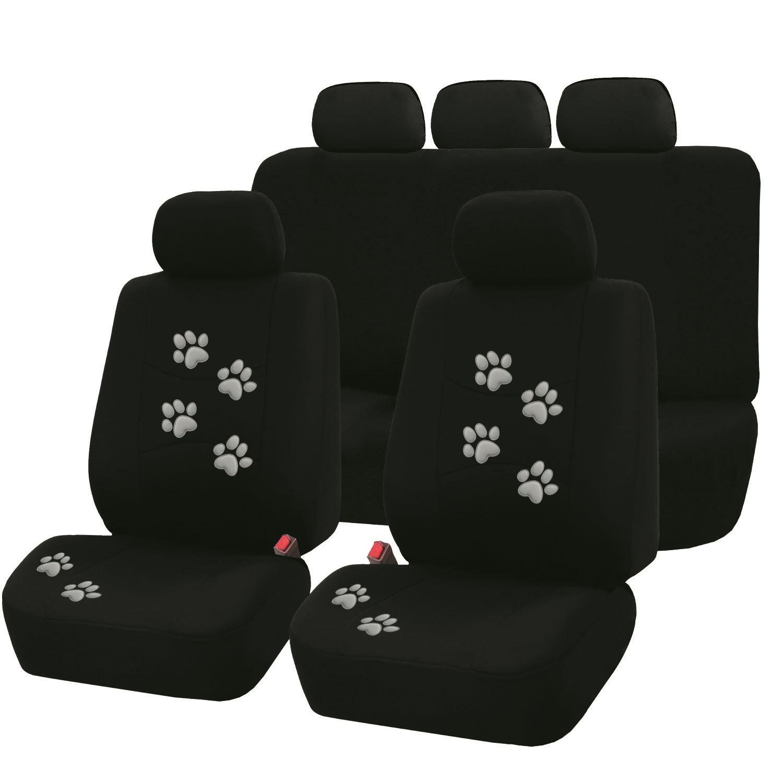 Summit sum-714/Sitzbezug-Set grau mit Hundemotiv