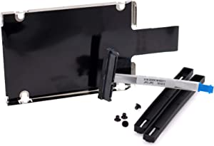 """Deal4GO 2.5"""" SATA Hard Drive Caddy w/Hard Disk Drive HDD Cable for HP Pavilion 15-AB 15-AK 15-an 15t-AB 15z-AB 17-G 17t-g 17z-g 809296-001 DD0X18HD011"""