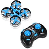RCtown JJRC H36 Mini Drone 2.4G 6-Axis Gyro Headless Mode LED Lights Remote Control Quadcopter - Blue
