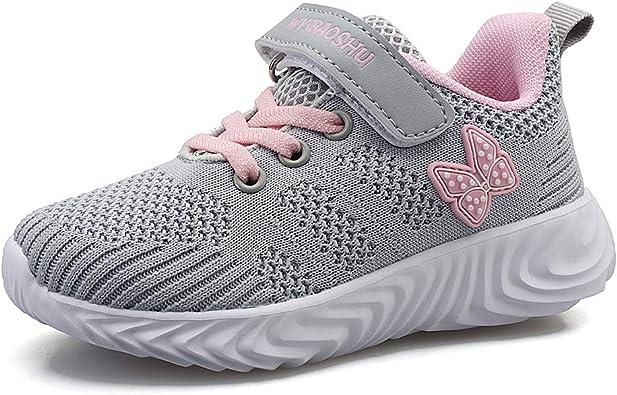 Niño Zapatillas de Unisex Niños Respirable Casual Zapatos de Deporte para Correr Trotar Bádminton: Amazon.es: Zapatos y complementos