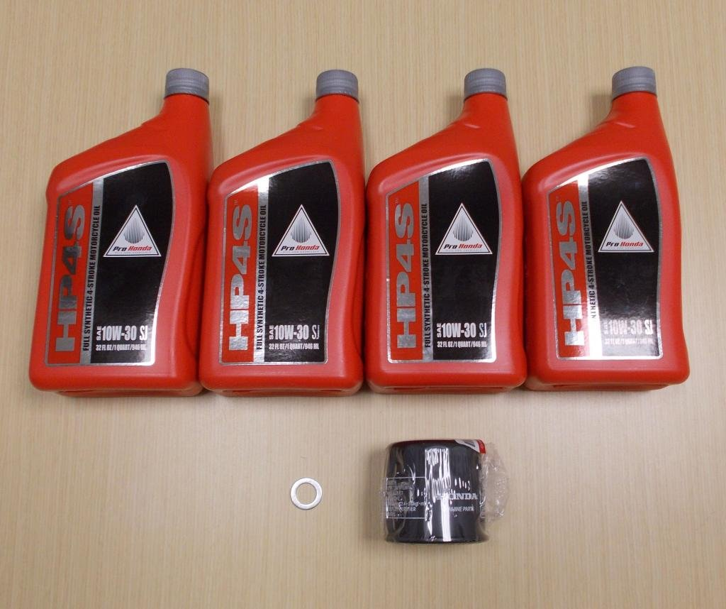 New 1988-2000 Honda GL GL1500 Goldwing Gold Wing OE Synthetic Oil & Filter Kit by Honda