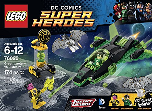 Green Lantern Set (LEGO Superheroes Green Lantern vs. Sinestro 76025 Exclusive To This Set -Green Lantern, Space Batman and Sinestro Order Now! With E-book)