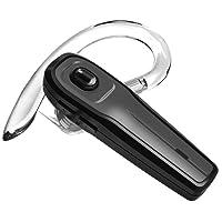 Bluetooth Headset, Kabellos Kopfhörer In-Ear Ohrhörer Rauschunterdrückung Funk Bluetooth Kopfhörer mit Mikrofon Freisprecheinrichtung Headsets für iPhone Telefon Fahren Business Büro/Fahren Drahtlose Hands-free Headset (Grey_SEED)