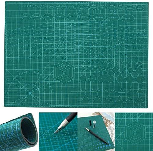 Queenwind A2 PVC ダブルプリントセルフヒーリングカッティングマットクラフトキルティングスクラップブッキングボード