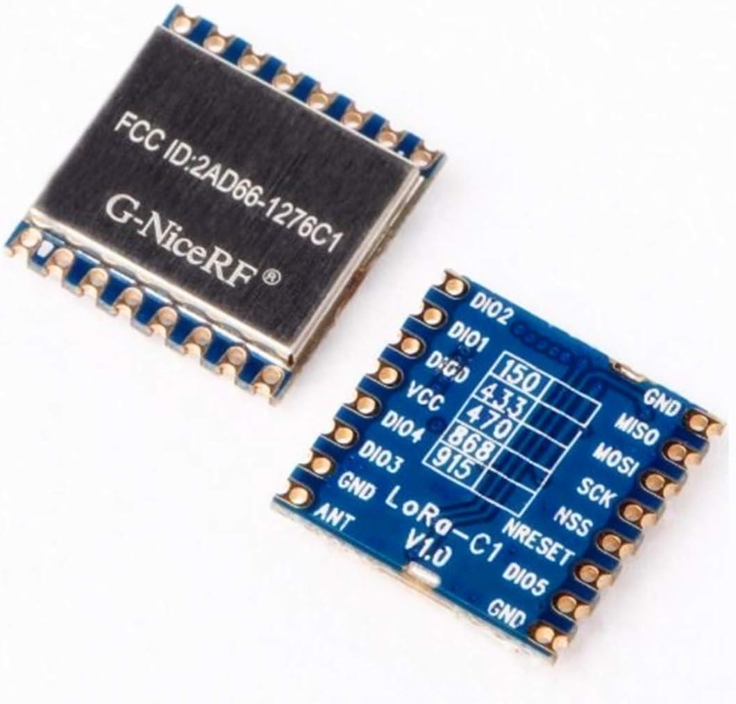 868//915MHz SX1276 Wireless Transceiver Module LoRa SPI remote alarmBSG