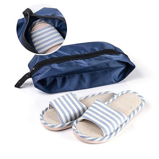 FAMLYJK (2 Piezas) Bolsa de Viaje portátil para Zapatos ...