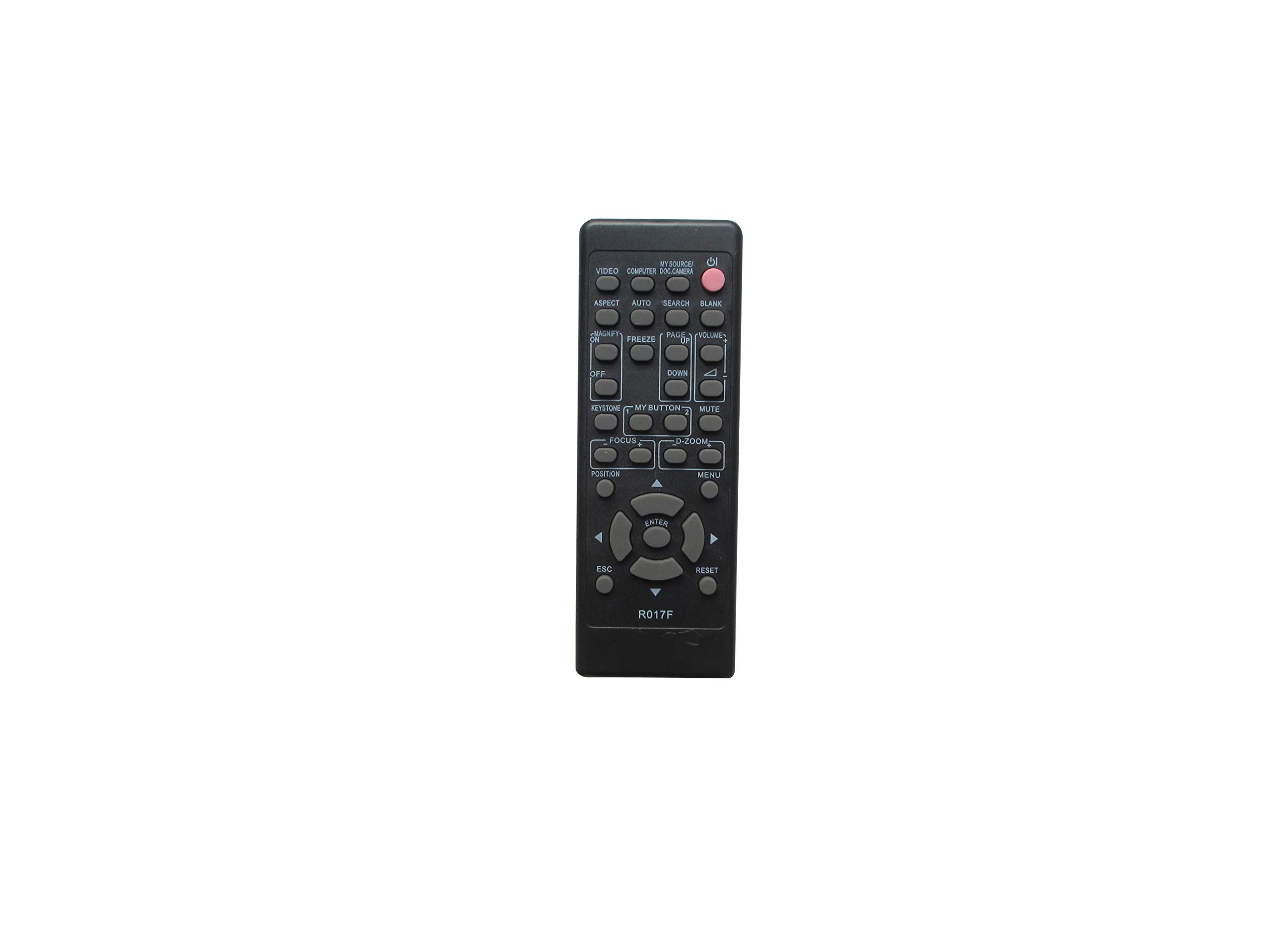 Remote Control for Hitachi CP-X3 CP-X275WAT CP-X300WF CP-X3015WN CP-X2510N CP-X2515WN CP-X2521WN CP-X253 3LCD Projector by Easytry123