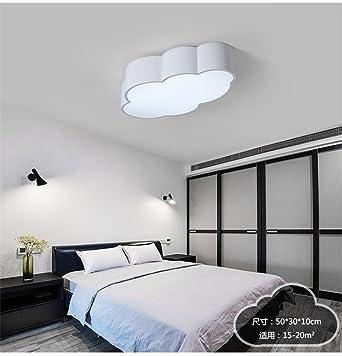 BRIGHTLLT Nubes de luz de techo Led luces LED dormitorio Salón vivero parque temático para los ...