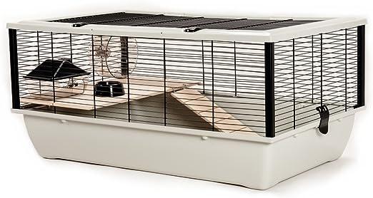 Little Friends Jaula Grosvenor, para Ratones y hámster, con Plataforma y Escalera de Madera: Amazon.es: Productos para mascotas