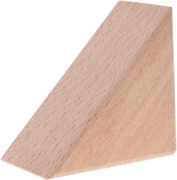 Juguete Montessori Bloque de Construcción de Madera Forma Triángulo Jugeo de Diversión para Niños - triángulo isósceles: Amazon.es: Hogar