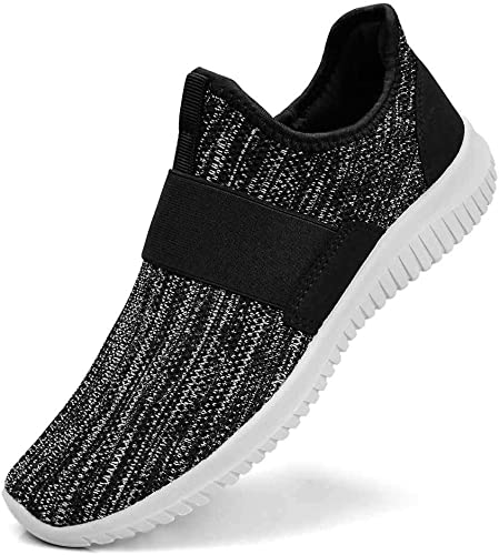Guteidee Women's Sneakers Slip On Fashion Mesh Sports Walking Working Non Slip Shoes