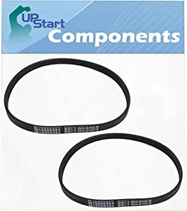 2-Pack W10006384 Washer Belt Replacement for Maytag MVWX655DW1 - Compatible with WPW10006384 Washing Machine Drive Belt