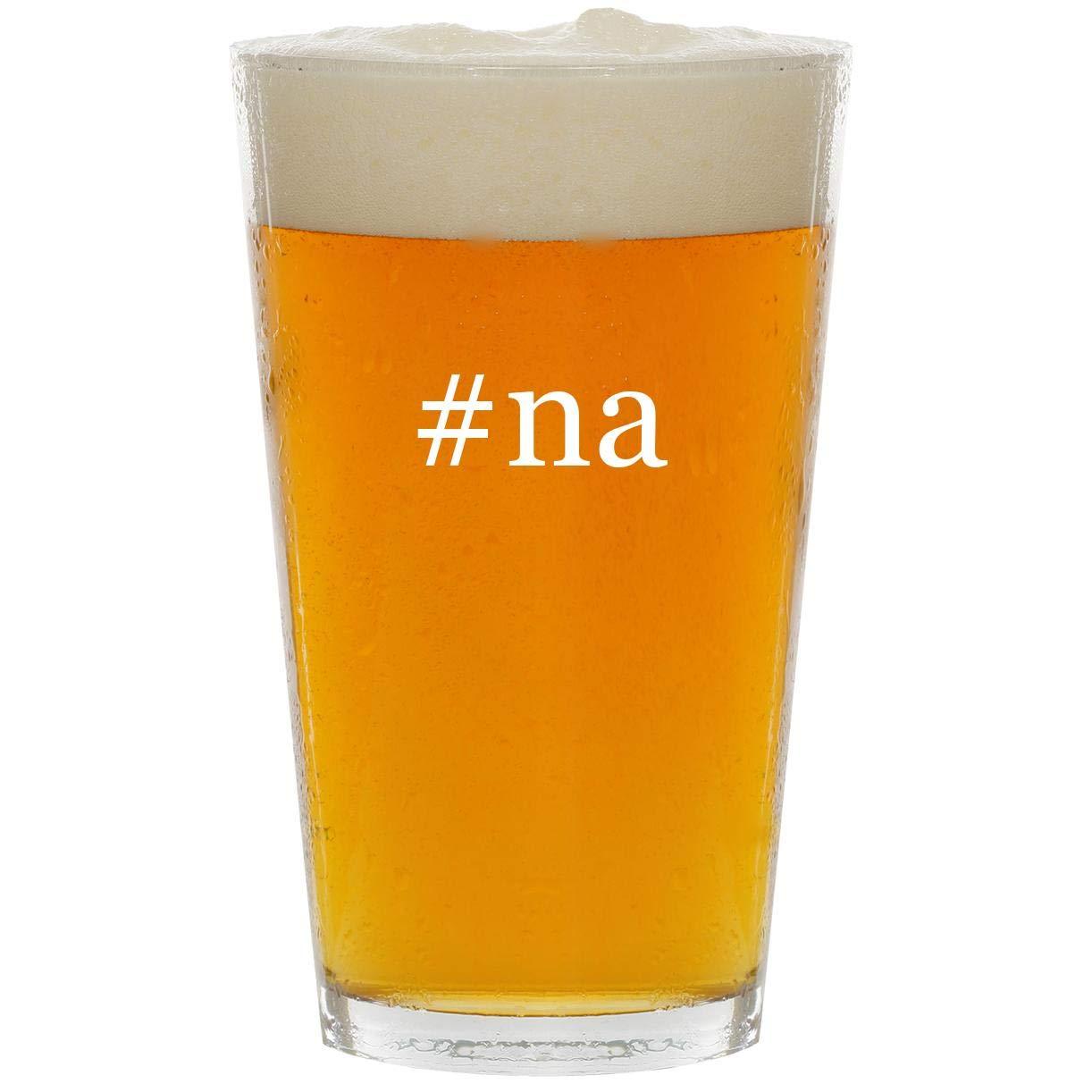 #na - Glass Hashtag 16oz Beer Pint