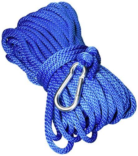UNICORD Unic Line ANC Sbpp 38x100 Roy Solid Braid MFP Polypropylene Anchor Line-Royal Blue ()