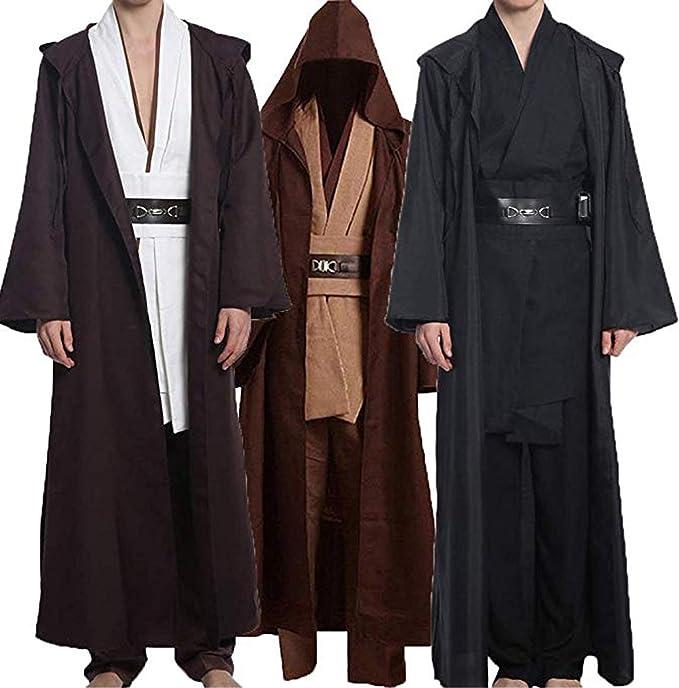 Amazon.com: Wecos Disfraz de Halloween para adulto, túnica ...